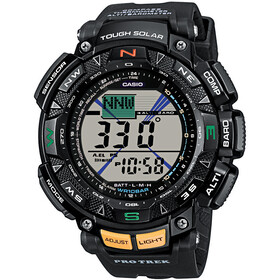 CASIO PRO TREK PRG-240-1ER Watch Men, black/black/grey